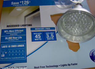 costco 3 5 watt led for recessed lighting. Black Bedroom Furniture Sets. Home Design Ideas